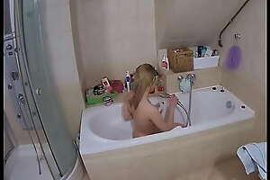Spying my best friend's girlfriend in the shower