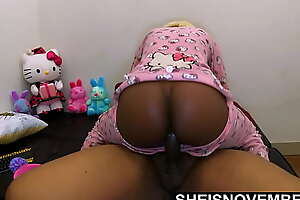 HD Msnovember Latin Daddy Big Cock Creampie Missionary   StepDaughter Cowgirl Stepdad   Rough Doggystyle POV   Innocent Ebony Hardcore BBC Fuck In Hello Kitty Pajamas With Butt Flap Unbuttoned Cumshot and Pretty Young Huge Ass Bouncing On SheIsNovember