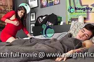 Hot Stepmom seduces her maid boy trending new year 2021