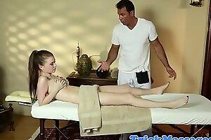 Hot teens intimate amateur massage