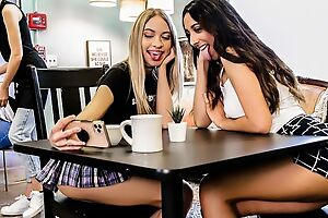 Two kinky college girls enjoying each other's company