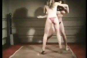 Lil Annie Owens vintage catfight