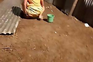 desi indian women pissing outside in open voyeur