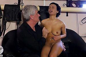 Little russian slut whipped hard