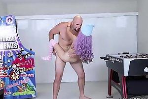 Loli Slut Riding White Cock Vina Sky: AsianSpanks.com