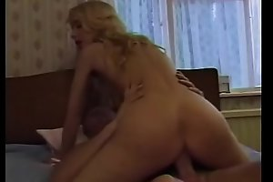 Horny babe Katrina enjoys taking dick in twat and mouth before getting facial cum