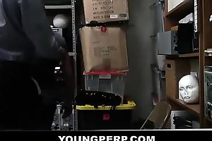 Black Security Guard RAW Fucking Young Teen - YOUNGPERP.COM