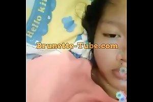 Bokep Lucah Budak Anak SMP Mainan Toket Gede di Bigolive