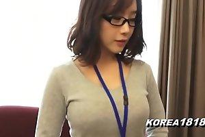 Korea1818.com - hot korean piece of baggage crippling glasses