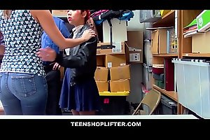 Cute Asian Mom Christy Love Fucks Officer To Get Her Asian Teen Daughter Off Of Shoplifting Charges