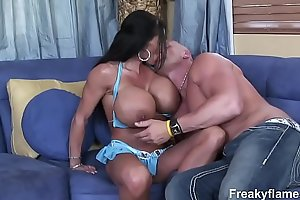 Lustfull large titties milf filly stepmom can't live without to drink heavy white dong untill c