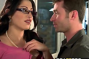 Big Tits at Work - You Fuck My Son You Are Fired scene starring Daisy Cruz and James Deen