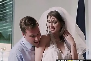 Brazzers - Real Wed Untrue  myths - Be careless To Procurement Fucked In Your Wedding Dress scene starring Karina