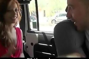 Amateur girl accepts cash for sex from stranger 9