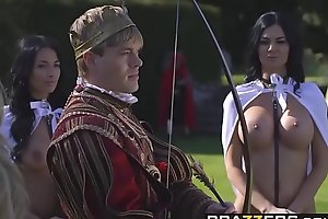 Brazzers.com - storm of kings xxx parody part anissa kate?and?jasmine jae?and?ryan r