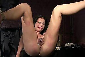 Thieves deserves vituperative punishments.BDSM movie.Hardcore subjugation sex.