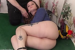 Beautiful blond Jessica Kay becomes an ass-to-mouth Goddess, an abused anal whore, and a wise hedonist
