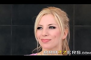 (Ashley Fires) lets Big cock Burglarize her Butt - Brazzers