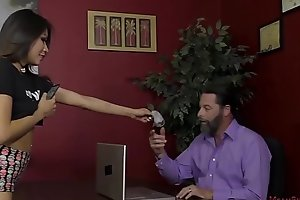 The Boss'_s Son Turns Him Come by Her Slave - Sami Parker - Femdom