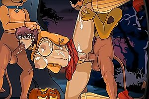 Scooby-Doo - Velma Dickley Wide A Sticky Sap Lay in wait by CreamBee