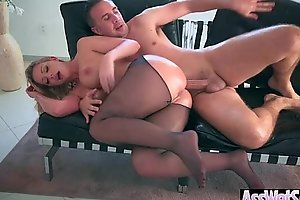 Hot Curvy Girl (Brooklyn Chase) With Big Ass Get Anal Sex mov-19