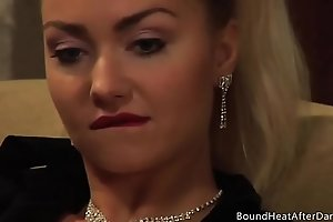 Mistress And Handmaiden: Young Body Keeps Her Juices Flowing