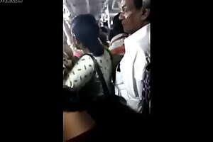 big ass aunty groped in bus