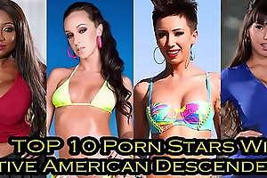 Top 10 Pornstars with Native American Descent